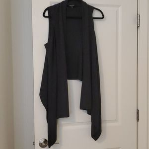 Eileen Fisher Merino Wool Waterfall Vest